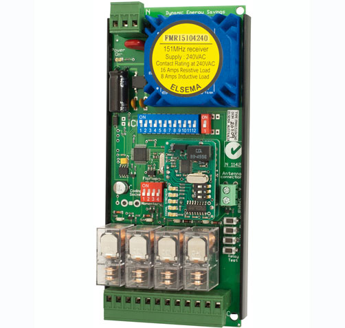 Receiver with relay output