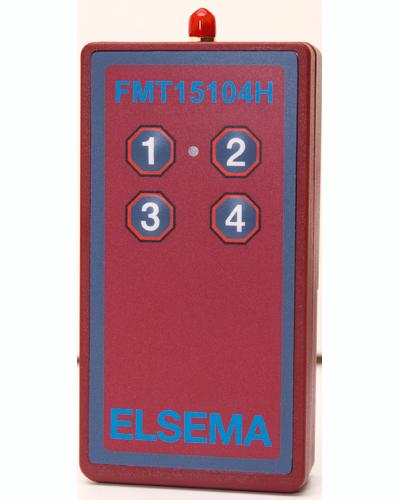 4-ch long range handheld remote
