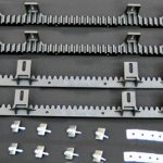 Gear rack for automatic sliding gate