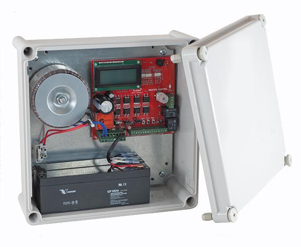 24V motor controller in a case
