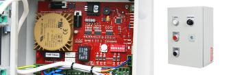 Industrial roller door controllers