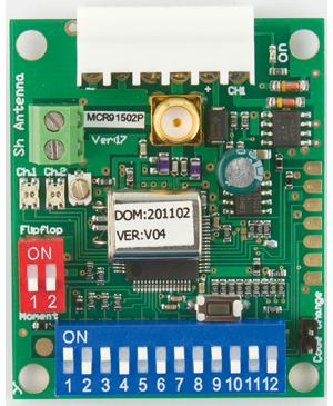 2-ch plug in receiver