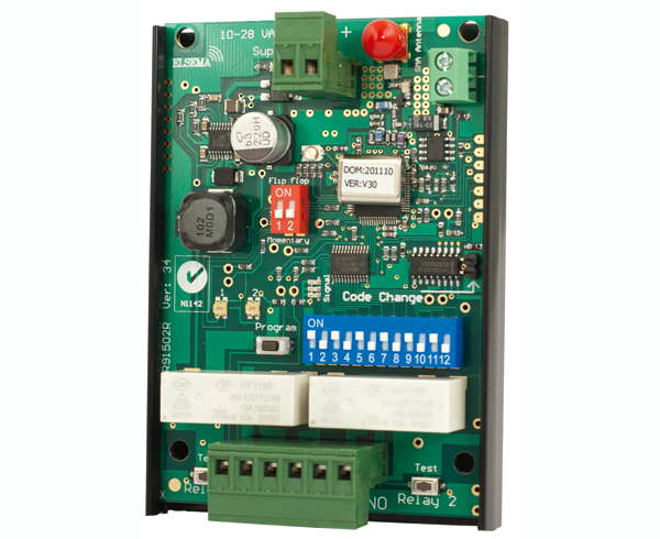 2-ch receiver with relay outputs