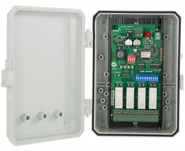 receiver in a case