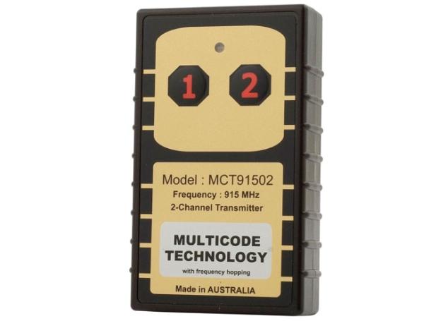 2-button secure remote