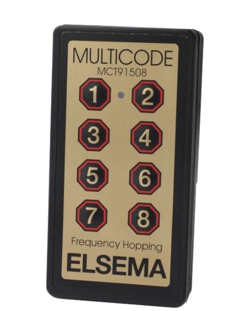 8-button remote