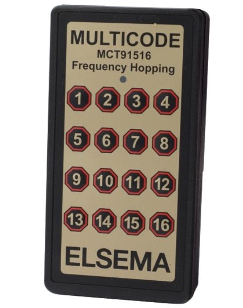 16-button remote