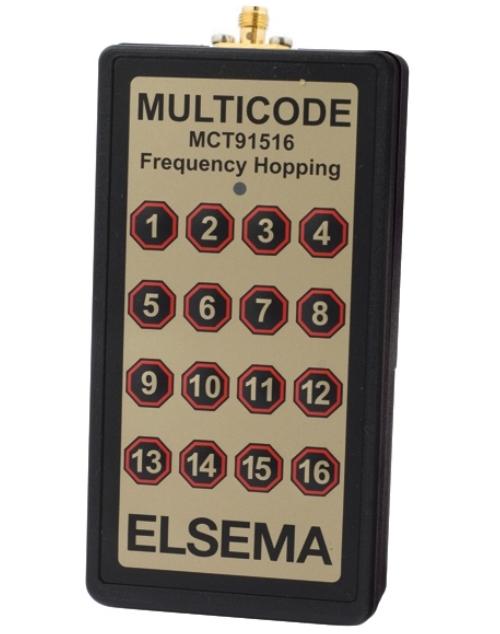 16-button long range remote