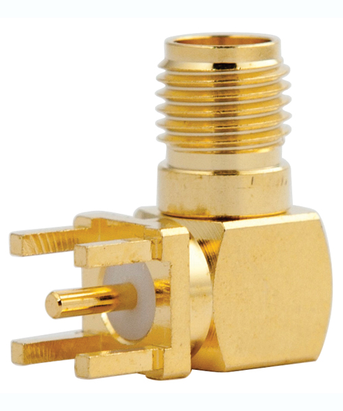 SMA right angle connector